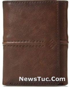 Trifold RFID Columbia Leather Men's Wallet
