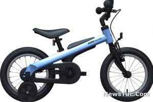 Segway Ninebot 14 inches with Training Wheels Kids Bicycle