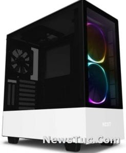 Dual Tempered Glass Panel RGB Lighting Gaming Tower Case