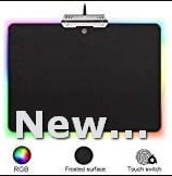 HIOTECH RGB LED Waterproof Surface Gaming Mouse Pad