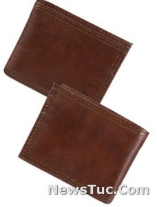 Extra Capacity Slimfold Columbia Men's Leather Wallet
