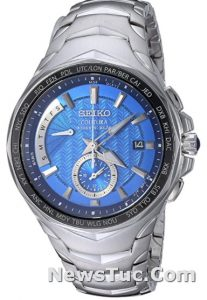Dual Time Solar Coutura Men's Watch