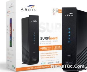 ARRIS SURFboardDual-Band Wi-Fi Router Cable Modem