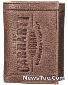 Trifold Carhartt Men's Leather Wallet