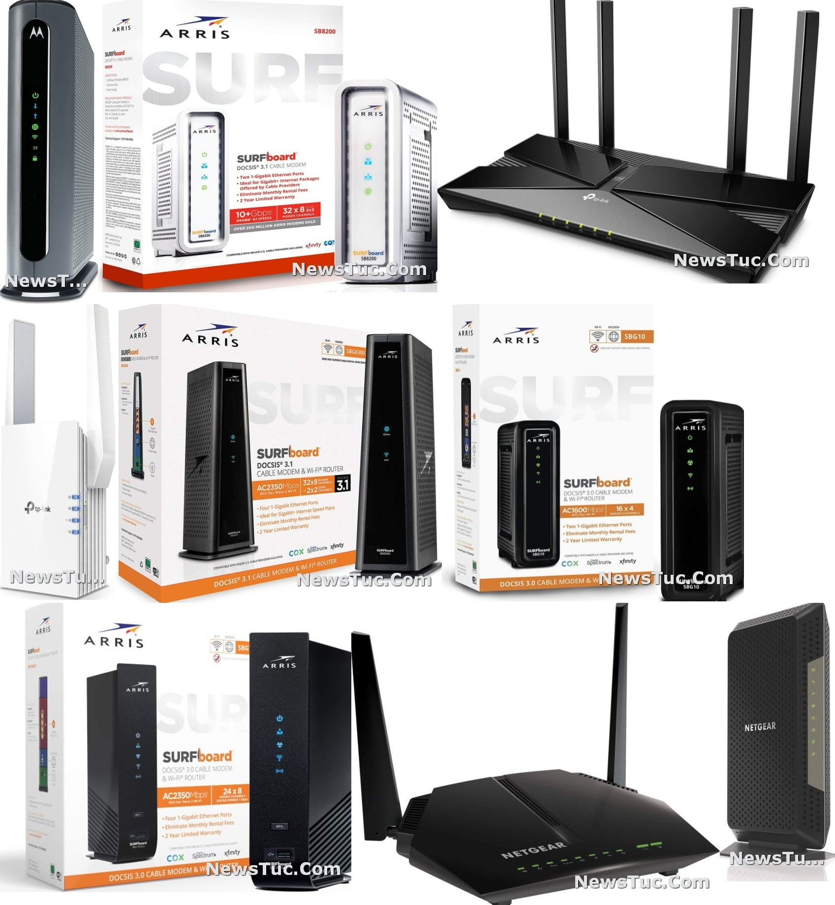 Top High Speed Dual-Band Wi-Fi Route Internet Modem