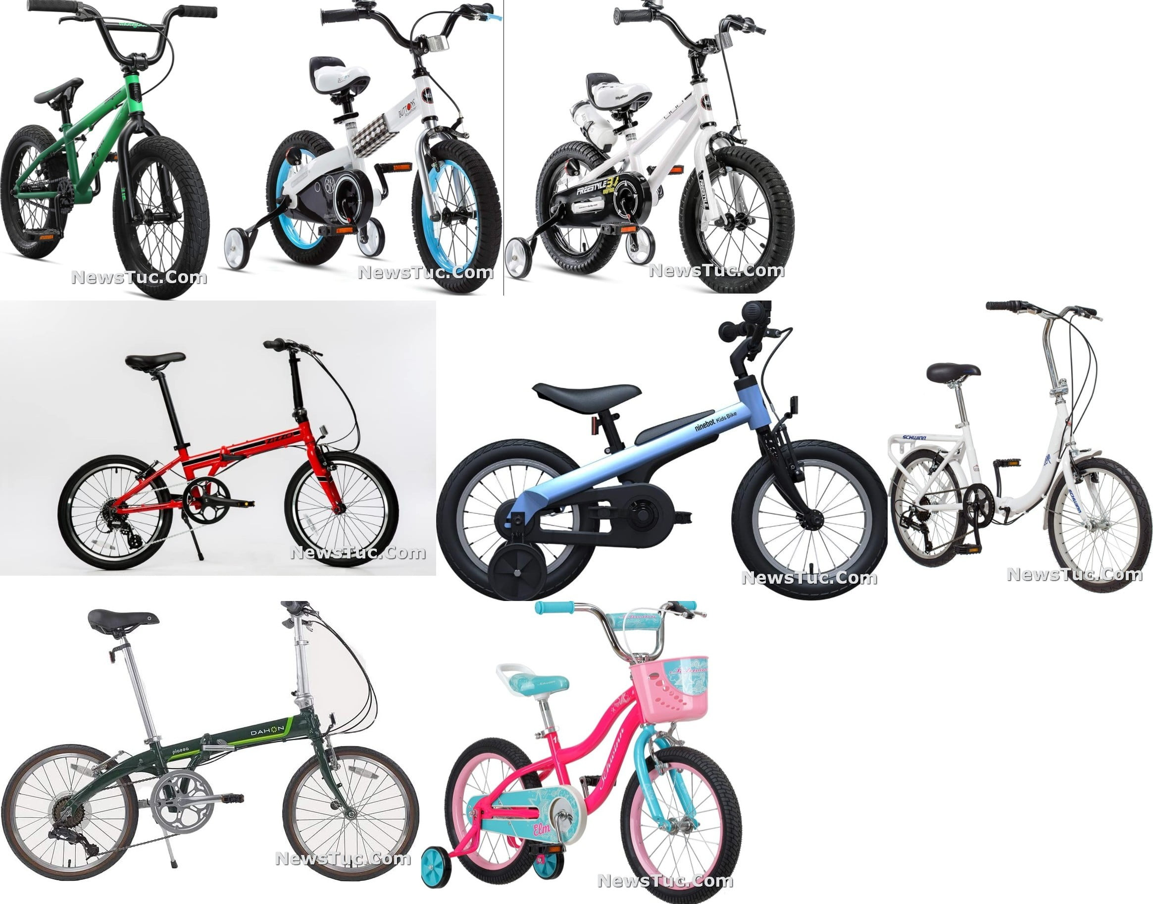 Top best budget Adjustable Folding Bicycle Kids and Adults