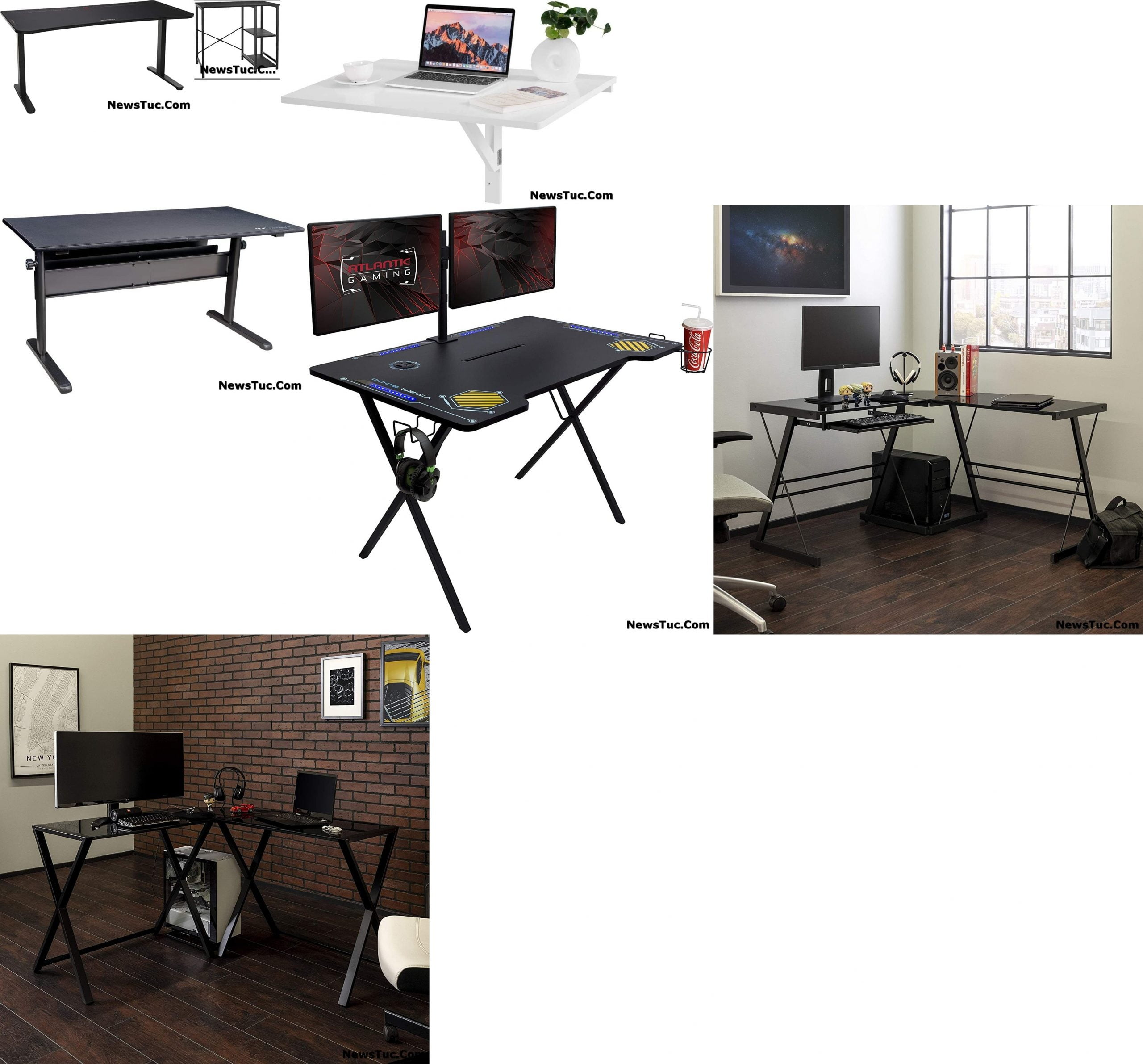 Top Adjustable Height Gaming Computer Tables And Desks