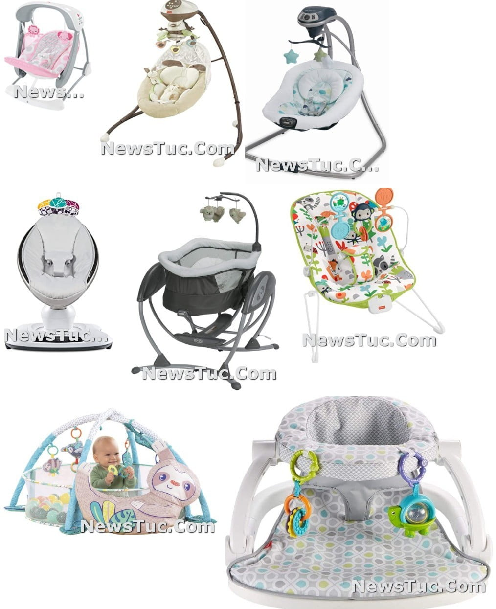 Top small spaces Cheap Price Unique chair Baby Swing